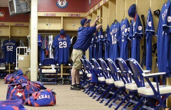 Set Up Men Clubhouse Crew Keeps Rangers Running Smoothly