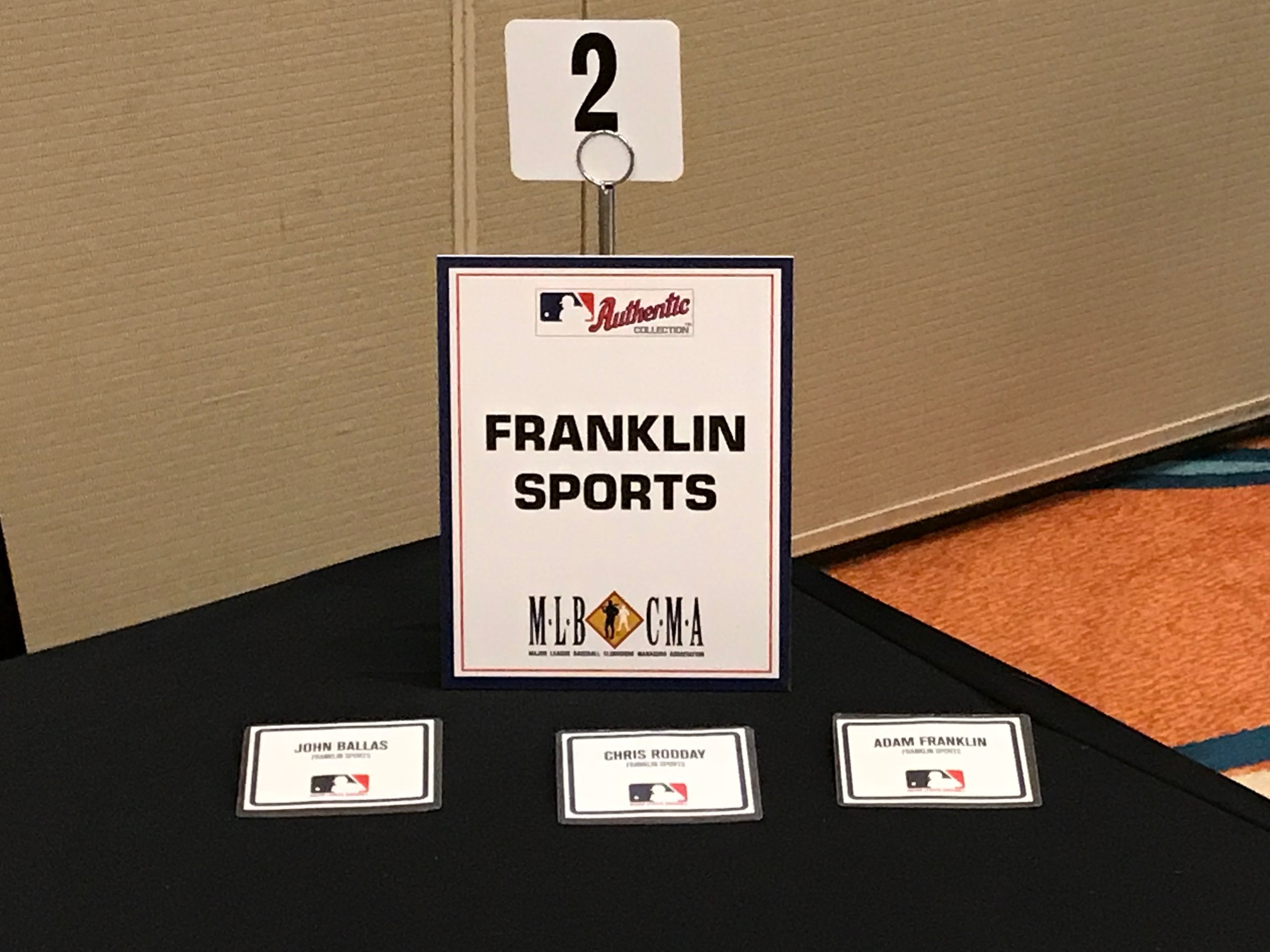 Trade Show ‹ Major League Baseball Clubhouse Managers Association